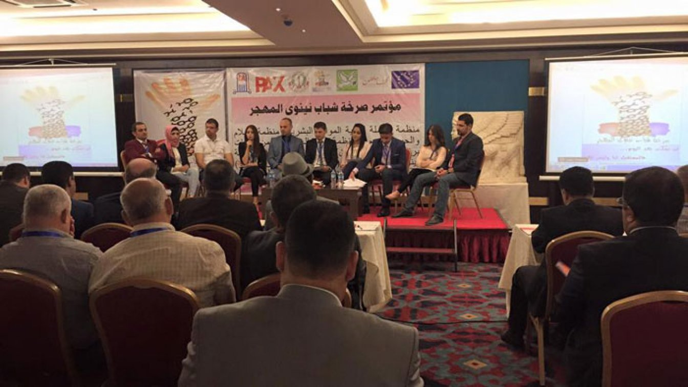 A group of about 35 young volunteers, representing the diverse communities living in Ninewa Governorate in North Iraq, presented their demands for a better future to decision makers. They did