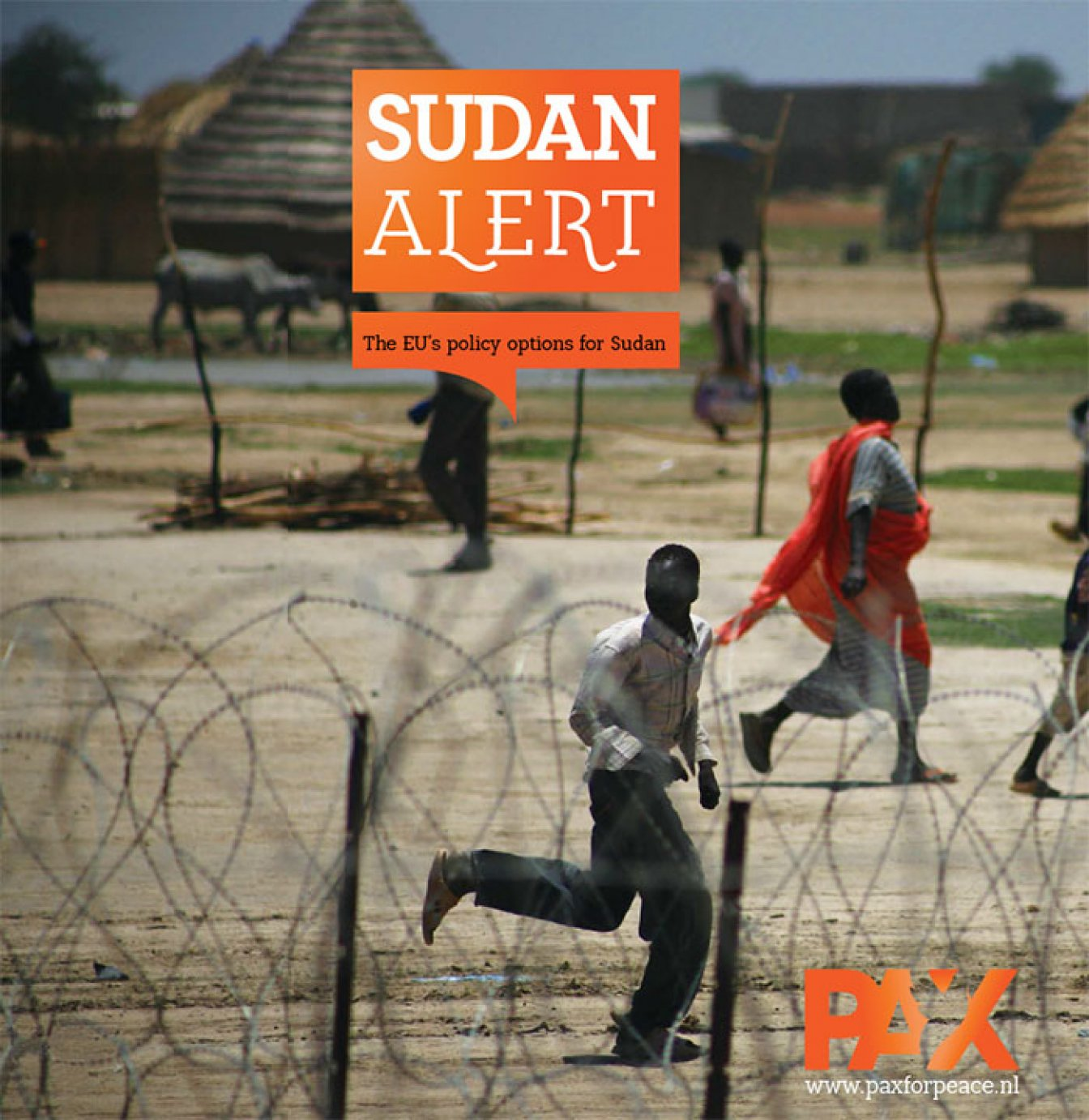 Cover of the PAX Sudan Alert